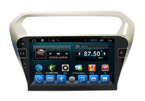Trung Quốc Car DVD Multimedia Player PEUGEOT Navigation System for 301Citroen Elysee nhà cung cấp