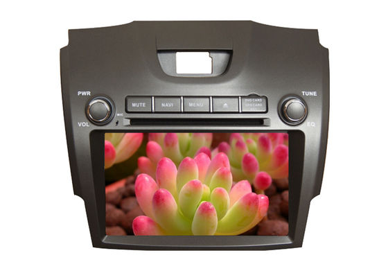 Bluetooth Car Automobile Dvd Players , Chevrolet GPS Navigation Isuzu D - MAX Holden Colorado RG