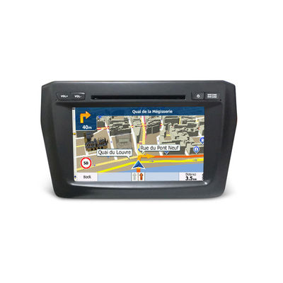 Double Din Car Video / Car Monitor Suzuki Navigation System Dvd Player Swift 2017
