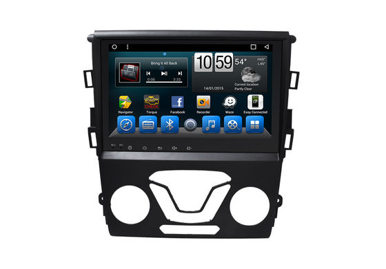 Trung Quốc Mirror Link Double Din Stereo With Navigation , Touch Screen Navigation Mondeo 2013- nhà cung cấp