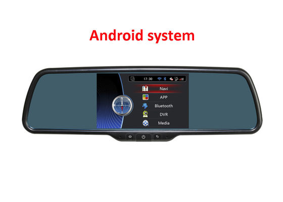 Trung Quốc 5 inch Rear view mirror monitor with DVR and GPS Navigation with Android os system nhà cung cấp