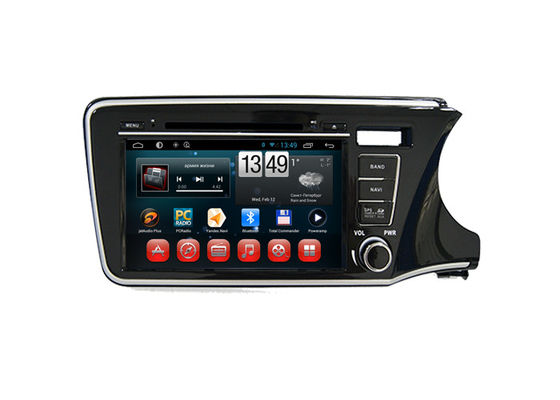 Trung Quốc Android Radio Bluetooth Dvd Player Honda Navigation System for City 2014 Right Hand nhà máy sản xuất