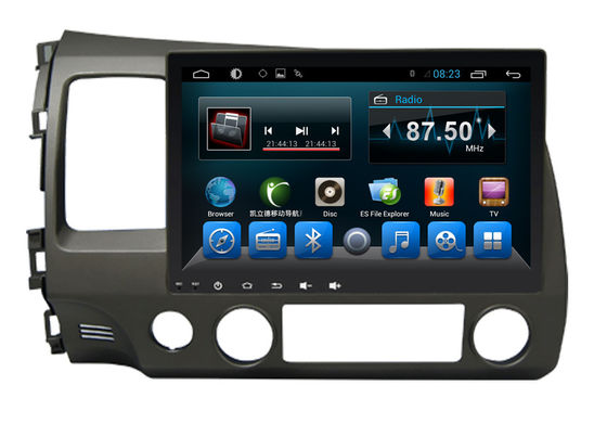 Trung Quốc Double Din Radio Car PC Bluetooth Dvd Player Civic 2006-2011 Big Screen nhà máy sản xuất