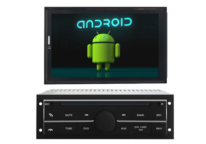 Android 4.4 Quad Core / Wince System Mitsubishi Navigator Multimedia , Support Google Map Online